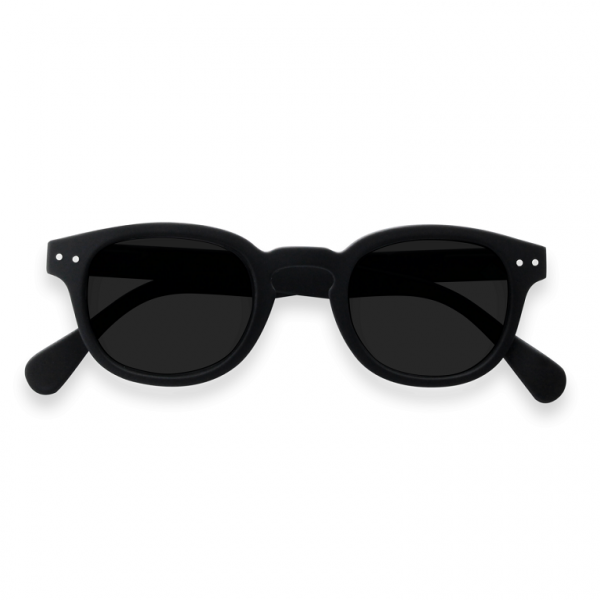 C Sun Black Sunglasses