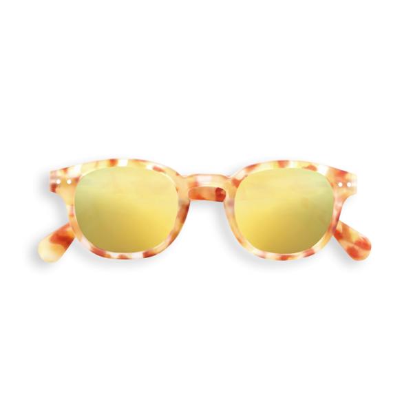 C Sun Yellow Tortoise Sunglasses