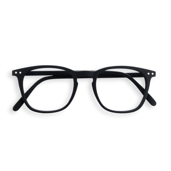 E Black Reading Glasses