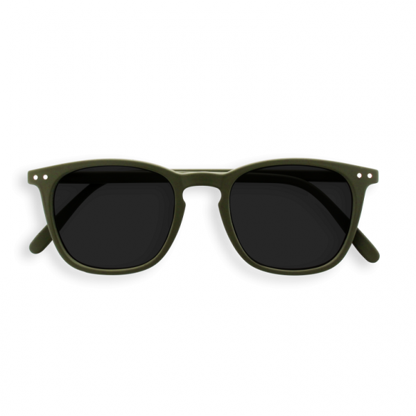 E Sun Kaki Green Sunglasses