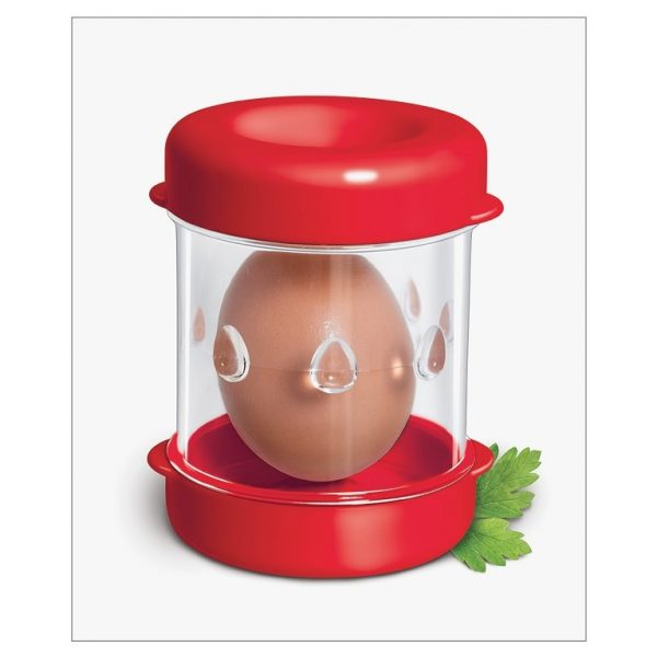 Negg Egg Peeler Red