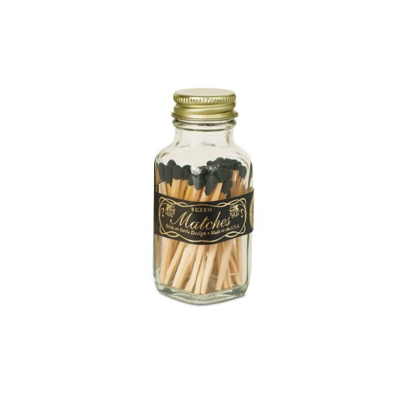 Skeem Design Vintage Match Bottle Small lack