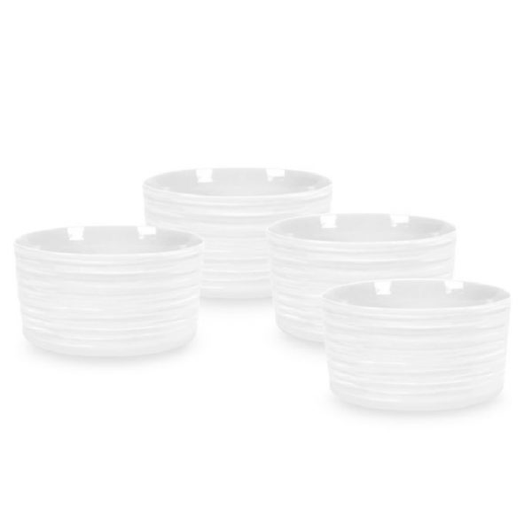 Sophie Conran Ramekins Set of 4 White