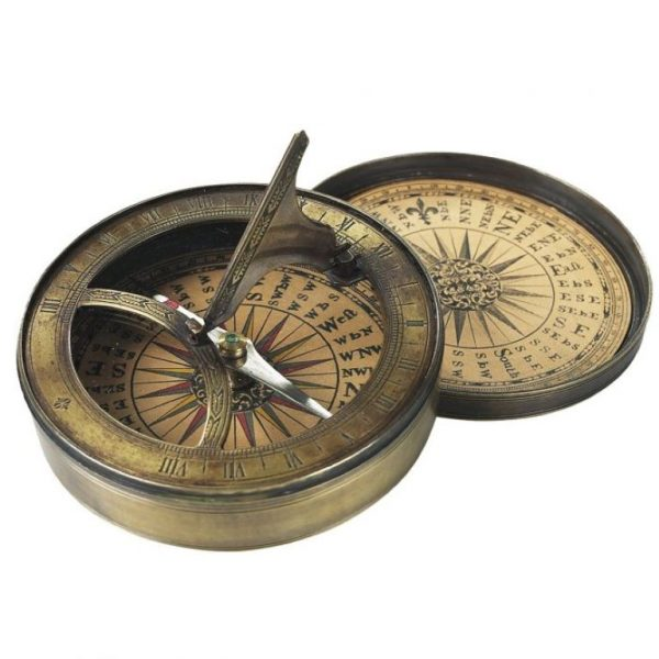 Authentic Models 18th Century Sundial Compass