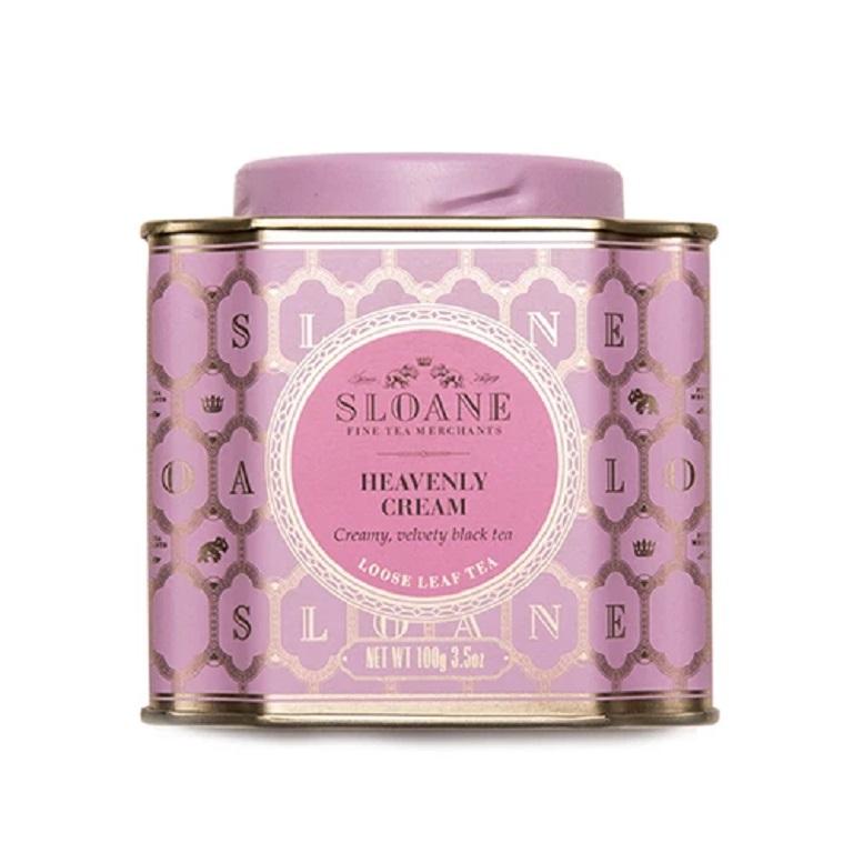 Sloane Fine Tea Loose Leaf Tea - Heavenly Creamimage