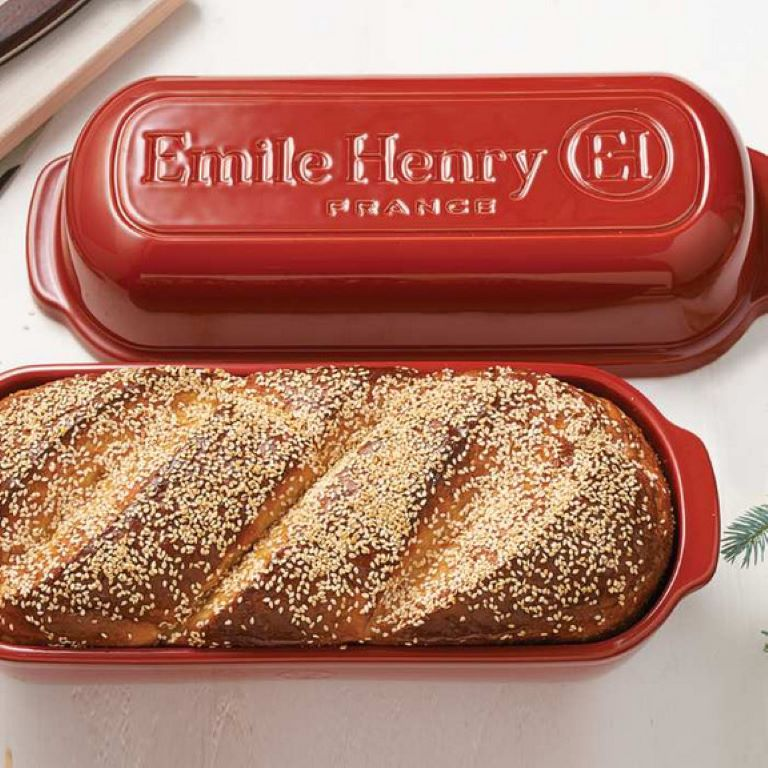 Emile Henry Rectangular Bread Bradshaws And Kitchen Detail